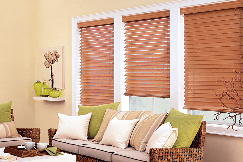 Horizontal Blinds Island Window Covering